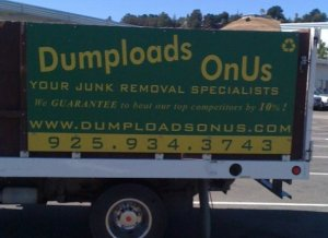Of course, by dumping loads they mean junk, not poop. Still, I have to admit the business name certainly suits it.