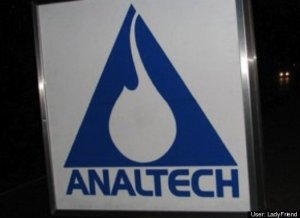 This is a technology company that makes laser chromatographic plates. However, the name is more appropriate for a tech company that makes probes that go all the way up in your ass.