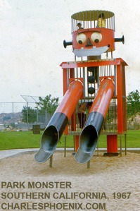 This is actually one of the few American playground pieces on this list. Still, it doesn't seem to look very friendly or has some sneaky side. Also, its walls remind me of a prison.