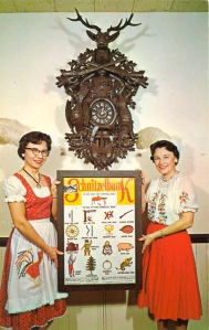 "I'm sure that clock is just an antique that only Dick Cheney could love. Still, the ""Schnitzelbank"" reminds me of an Animaniacs sketch for some reason."