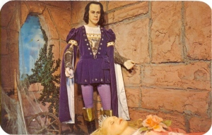 While Prince Ed wasn't a bad guy, he was not exactly charming to say the least. In fact, he was known to have a genetic disorder that resulted in an abnormally tall head.