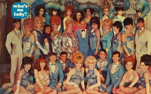 Oh, I forgot, Hairspray is musical made not to long ago adapted from 1980s movie. Still, I'm sure nobody would want to send their parents a postcard depicting something like this.