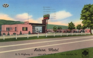 """I know this is more of a bungalow vacation spot for travelers. Yet, the hot pink walls and that neon sign give it the kind of """"no-tell, motel"""" vibe that makes it seem like a place for hookers or adultery."""
