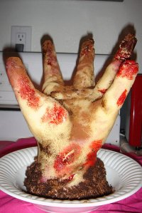 If that means cutting my hand off for that, then no way in hell. Please, this severed hand cake almost makes me puke.