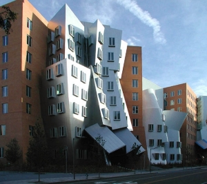 This is the Ray and Maria Stata Center at MIT, which is another design by Frank Gehry. Let's just it just looks as though a hurricane blew through it. Thankfully, it's not used as MIT's school for architecture.