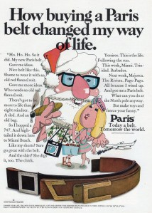 Yeah, I'm sure I'd find an old guy with a long white beard sexy, especially with a the blond chick next to him who certainly isn't Mrs. Claus. Also, why is Santa smoking a big cigar in the plastic rimmed glasses?