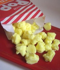 Then again, this popcorn soap may be better suited to wash yourself after you come back from the movies smelling of real popcorn and who knows what else.