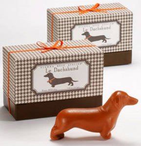 Hey, at least this soap resembles a wiener dog or dachshund. Still, anyone who assumed differently ought to get their minds out of the gutter.