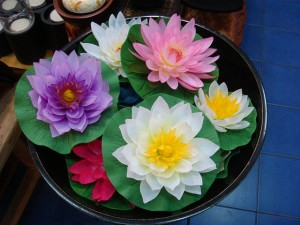 Now I don't know about you but these soap waterlilies are simply stunningly amazing. In fact, they almost seem to resemble the real thing so closely.
