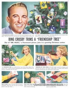Of course, Bing Crosby is also known to be one of the shittiest parents in Hollywood said to be cold, cruel, remote as well as physically and emotionally abusive to his four sons from his first marriage (this is disputed within his own family though). Also, left them out of getting any money until they reached 65.