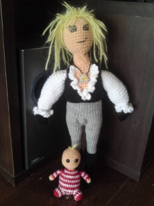 For people like me growing up in the 1990s, Jareth the Goblin King is probably the main reason of what we know David Bowie as. Still, whoever made this got his hair right on.
