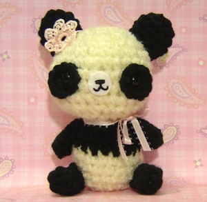 Of course, while pandas are considered cute due to their black and white composition and bear like appearance, they nevertheless are endangered in China. And I'm sure the pollution there doesn't help.