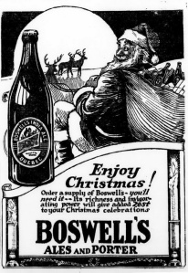 I don't know about you but it seems that Santa Claus might have some alcohol dependency issues. I mean he has a sack full of booze and I know you can't give children that.