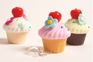 However, I must warn you don't ever use these cupcake soaps as real treats if you know what I mean. Still, they're still pretty cute.