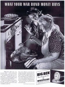 I'm sure the little girl and her grandma are so excited with the turkey coming out of the oven. Probably because they could lace it with arsenic laced gravy. Yeah, this is the Thanksgiving that will kill practically everyone.