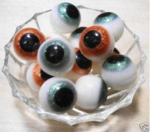 Then again, I'm sure you might not want to get the eyeball soaps out when the kids are awake. Still, pretty disgusting and creepy.
