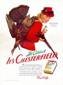 Still, I don't think cigarettes have ever been tools for female empowerment. In fact, quite the opposite. Seriously, those smokers who can bag their own turkeys today, certainly won't tomorrow.