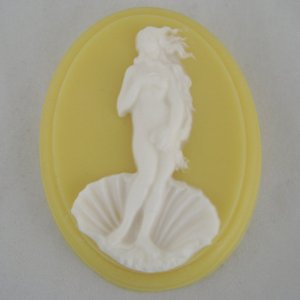 As far as Renaissance art pieces go, this is a very appropriate piece you can put on a soap. After all, it has Aphrodite rising from the sea through a large shell.