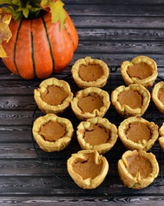 Then again, these little pie crusts are made from mini waffles. So this might be a treat to make for those who can't be trusted with a knife.
