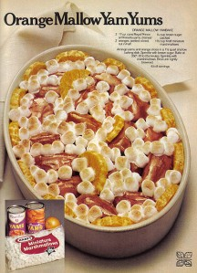 Seriously, this is disgusting and definitely not good for you. I mean marshmallows are basically candy for God's sake. Seriously, how the hell did people come up with such recipes?