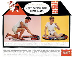 I don't know about you but are there anything skeevy about this. My God, this is sick.  Only weird boys played with toy trains in their undies whether they be boxers or tidy whiteys.
