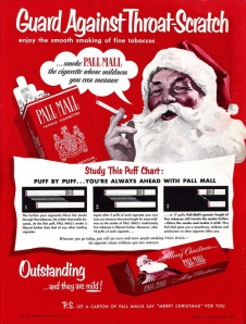 Yes, but side effects include yellow skin, yellow teeth, cancer, emphysema, COPD, cardiovascular disease, and early death. Also, bad, bad, Santa.