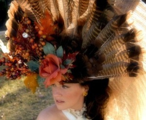 Looks more like something I'd see on my next door neighbor's living room wall than something I'd actually wear on my head. Of course, the turkey in question would've been shot by my neighbors' anyway.
