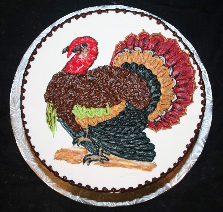 Thanksgiving Turkey Cake Recipe Dishmaps