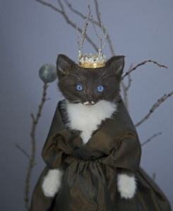 """""""Memory all alone in the moonlight."""" Then again, Grizabella was much more haggard and mangy than this cat ever was."""