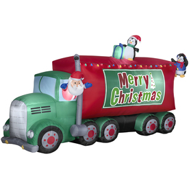 Of course, there are plenty of truckers who look like Santa Claus so maybe Saint Nick is onto something here. Still, I bet the reindeer aren't too happy being unemployed though.