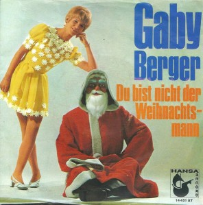 After posing on this album with Psycho Claus, Gaby Berger would never be seen again. It's rumored that the guy behind the Santa mask brutally murdered her in cold blood.
