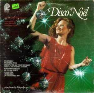 I don't know about you but I really don't think that Christmas and Disco really go together. Still, this woman really seems particularly excited to decorate her home with little ornaments of disco balls.