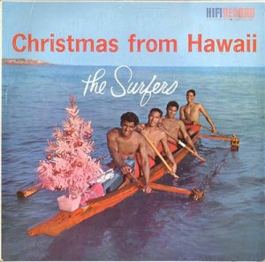 Of course, the Surfers actually wanted a different artificial Christmas tree, but the aluminum pink one was the only one the store had that could fit on their boat.