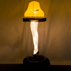 As most of us have seen A Christmas Story, we all know that Ralphie's dad received a leg lamp after winning a sweepstakes contest. Still, despite A Christmas Story being a family film, this leg lamp is certainly an R-rated decoration.