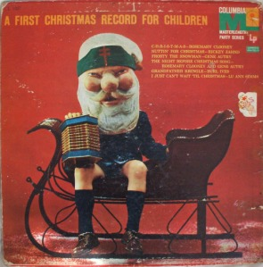 Now this Santa is just terrifying beyond all description. Seriously, what were the album designers thinking? Then again, they were probably under contract anyway.