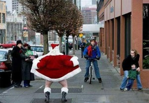 We may divided on whether to see Santa at the mall this year, but there's certainly a consensus that nobody wants to see a naked Santa. Ho, ho, hell no!