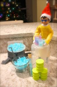 Oh, my God, don't tell me that Thistlewhite has started his own crystal meth business! Seriously, we may need to report him for this before there's a meth problem among the toys.