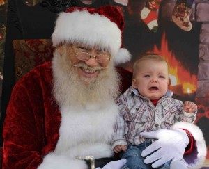 """Yes, cry my little one! I'm always energized and refreshed by the cries of innocent children! Ho, ho, ho!"""