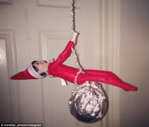 I'm sure this rendition of the popular Miley Cyrus music video as well as hit song will not sit well with Santa at the North Pole at all.
