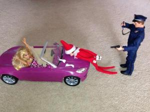 Let's hope that he didn't do anything to Barbie and that Ken doesn't find out. Man, Blinker must be one very bad elf.