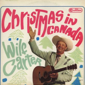 "Seriously, if it didn't say ""Christmas in Canada"" I would've mistaken this for some country western album. I don't know what the Canadians think about such a design, but here in America, we don't associate Canadians with cowboy culture. Probably should've used a Mountie or a hockey player instead."