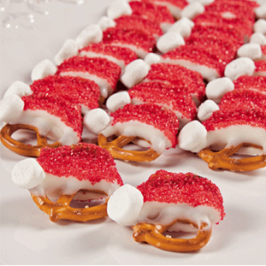 Now these are so cute and seem so easy to make. Man, the wonders you can make with pretzels.