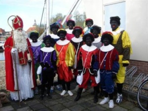And you thought the United States has problems with race relations? Still, I'm sure a Barack Obama visit in the Low Countries during the Saint Nicholas season wouldn't go very well at all.