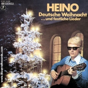 For those who haven't seen my post on tacky album covers, Heino's the guy I said seems more appropriate for some Dieter inspired music video. He was the guy holding the roses. And he's even more terrifying in shades.