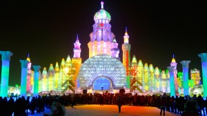 I don't know about you but I kind of see the Harbin Snow and Ice Festival as China's version Disney World on Ice in a very literal sense.