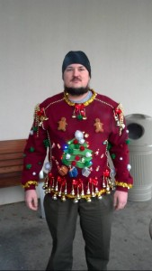 Of course, ugly Christmas sweaters have the potential to make tough biker dudes be reduced to icons of utter ridiculousness.
