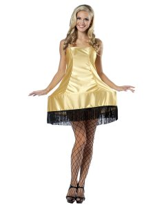 Yes, that's a leg lamp costume but I'm sure that the only thing keeping it from being a strictly stripper club outfit is the fact it's inspired by a prop from a family film.