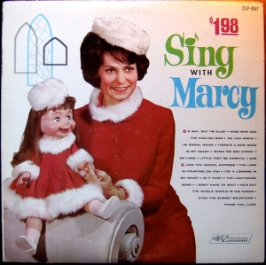 I have yet to understand the use of why ventriloquism seems to be so rampant in the Christian media. And the dummies always seem to be so creepy. Still, I'm sure Marcy is likely to haunt children in their dreams.