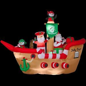 Wait a minute, Santa gives presents to children, not take away cargo and other items from merchant ships! Then again, Saint Nicholas is the patron saint of sailors. Still, why does this even exist?