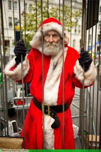 I'm sure Santa Claus is back from his stint in jail and is vowing to catch the real culprit for the crime he didn't commit through any means necessary. Let me say, there will be hell to pay.